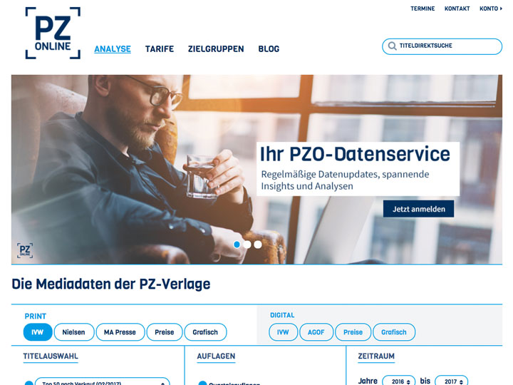 PZ-Online: Relaunch